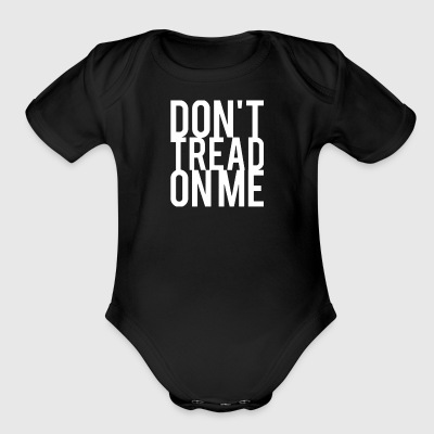 Don't Tread On Me - Short Sleeve Baby Bodysuit
