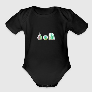 succulent pixels by tumblr aesthetic - Short Sleeve Baby Bodysuit