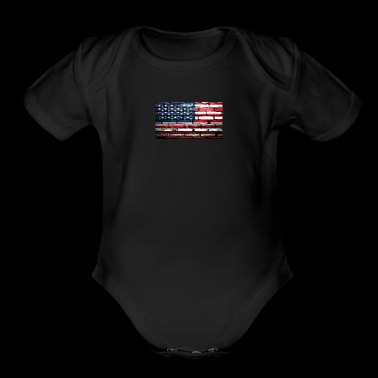 Trump Wall - Short Sleeve Baby Bodysuit