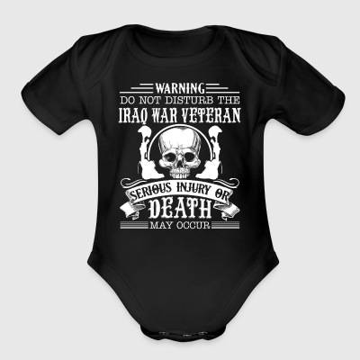 Iraq War Veteran Shirt - Short Sleeve Baby Bodysuit