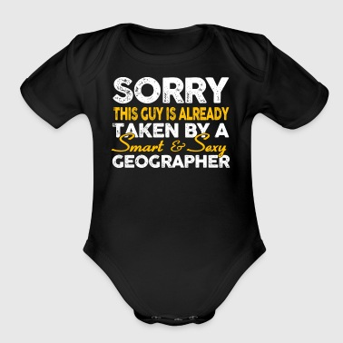 Smart And Sexy Geographer T Shirt - Short Sleeve Baby Bodysuit