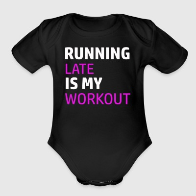 Funny workout designs - Short Sleeve Baby Bodysuit
