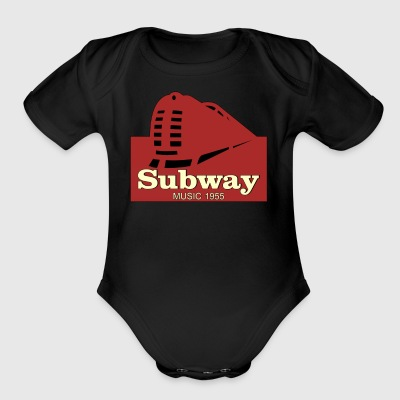 Subway Music 1955 - Short Sleeve Baby Bodysuit