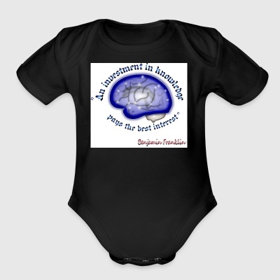 Words of wisdom - Short Sleeve Baby Bodysuit