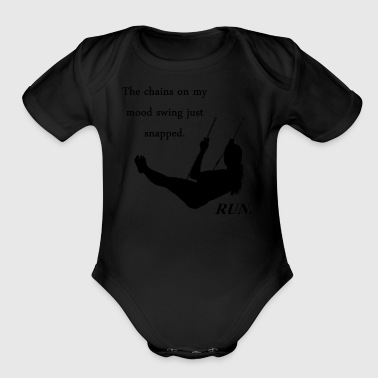 Mood Swing - Short Sleeve Baby Bodysuit