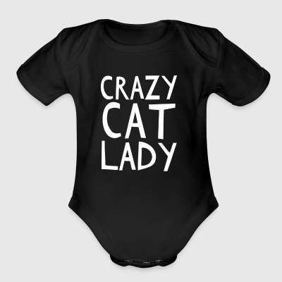 Crazy Cat Lady - I love cats! - Short Sleeve Baby Bodysuit