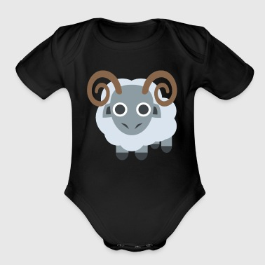 Ram los angeles - Short Sleeve Baby Bodysuit