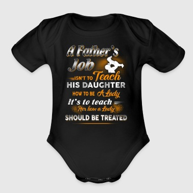 A Father s Job Farmer T Shirts - Short Sleeve Baby Bodysuit