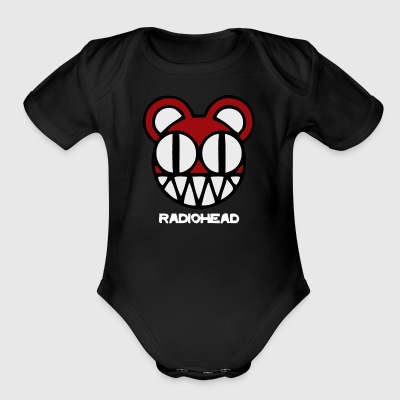 RADIO HEAD - Short Sleeve Baby Bodysuit