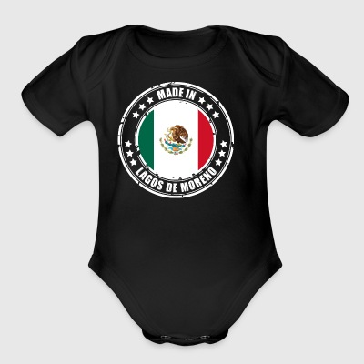 MADE IN LAGOS DE MORENO - Short Sleeve Baby Bodysuit