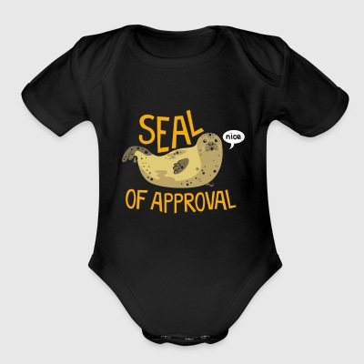 Seal of Approval - Short Sleeve Baby Bodysuit