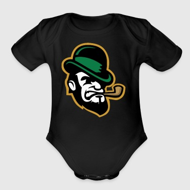 Mr Tobacco - Short Sleeve Baby Bodysuit