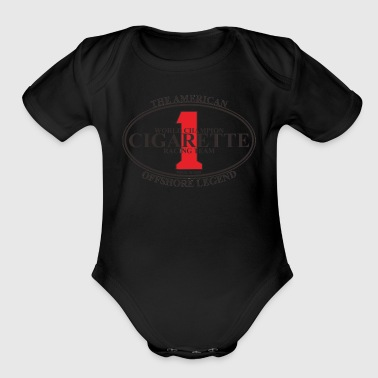 CIGARETTE 1 - Short Sleeve Baby Bodysuit