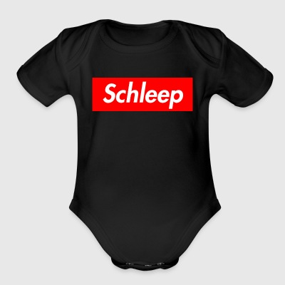 Schleep - Short Sleeve Baby Bodysuit