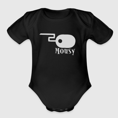 Mousy - Short Sleeve Baby Bodysuit