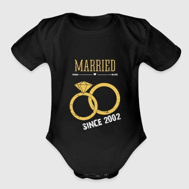 Married since 2002 - Short Sleeve Baby Bodysuit