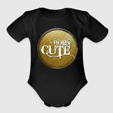 Born Cute - Organic Short Sleeve Baby Bodysuit