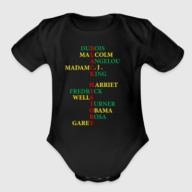 Black History - Short Sleeve Baby Bodysuit