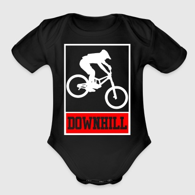 Downhill - Freerider - Short Sleeve Baby Bodysuit