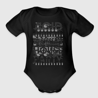Acid House Party 303 - Short Sleeve Baby Bodysuit