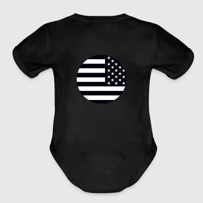 Patriot - Short Sleeve Baby Bodysuit