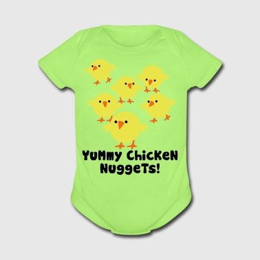 Chicken Nuggets - Short Sleeve Baby Bodysuit