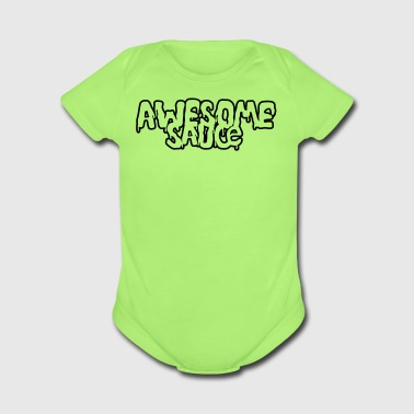 Awesomesauce - Organic Short Sleeve Baby Bodysuit