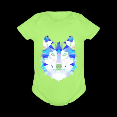 Wolf - Short Sleeve Baby Bodysuit