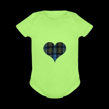 It s In My DNA for the Proud Scot heart Plaid Shir - Short Sleeve Baby Bodysuit