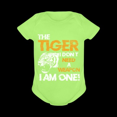 Tiger Cat Gift Idea Animal Rights Claw Weapon - Short Sleeve Baby Bodysuit