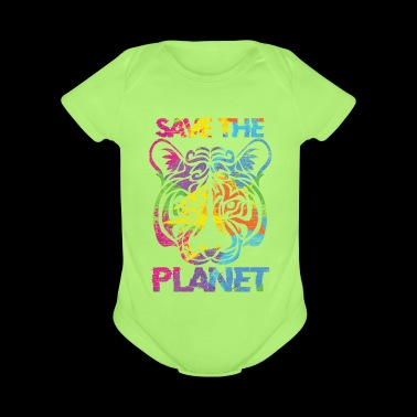 Save the planet - Short Sleeve Baby Bodysuit