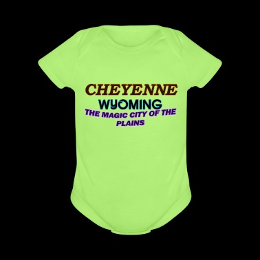 Cheyenne Wyoming Magic City Of The Plains Shirts - Short Sleeve Baby Bodysuit