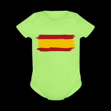 Tee shirt spain flag - Short Sleeve Baby Bodysuit