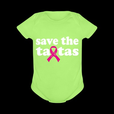 Save The Tatas Cancer Survivor Mothers Day - Short Sleeve Baby Bodysuit