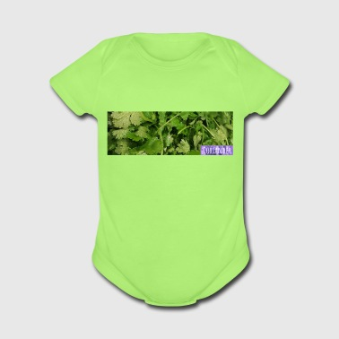 Cooking with Coriander - Organic Short Sleeve Baby Bodysuit