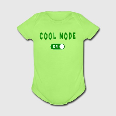Cool Mode - Short Sleeve Baby Bodysuit