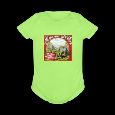 YOSEMITE - Short Sleeve Baby Bodysuit