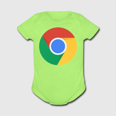 Chrome. - Short Sleeve Baby Bodysuit