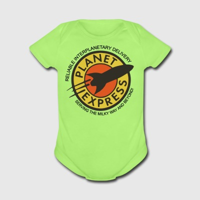 Planet Express - Short Sleeve Baby Bodysuit