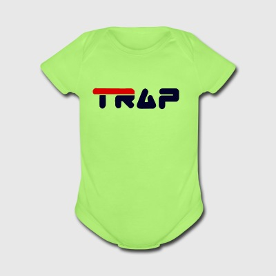 TRAP - Short Sleeve Baby Bodysuit