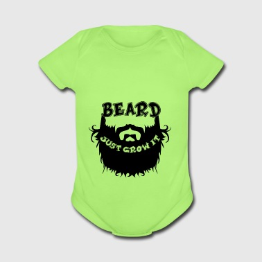 Beard - Short Sleeve Baby Bodysuit