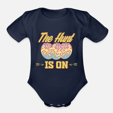 Eastern Bloc EASTER - The Hunt is on - Organic Short-Sleeved Baby Bodysuit