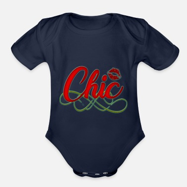 Chic Chic - Organic Short-Sleeved Baby Bodysuit