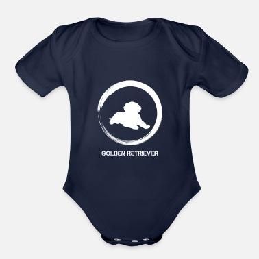 Retriever GOLDEN RETRIEVER 4200 - Organic Short-Sleeved Baby Bodysuit