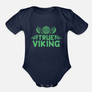 Celtic Celtic Viking - Organic Short-Sleeved Baby Bodysuit