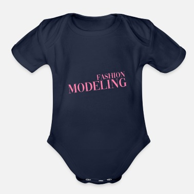 Model Job Model Fashion Model Modeling Top Model - Organic Short-Sleeved Baby Bodysuit
