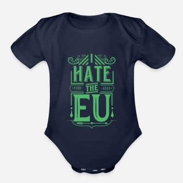 Eu EU - Organic Short-Sleeved Baby Bodysuit
