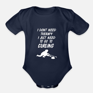 Canada Curling - Organic Short-Sleeved Baby Bodysuit