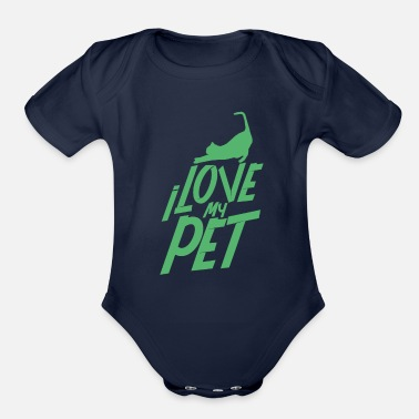 Pet Pet PeT Pet Pet - Organic Short-Sleeved Baby Bodysuit
