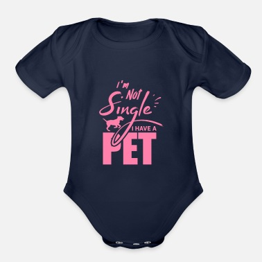 Pet Pets Pets Pets Pets - Organic Short-Sleeved Baby Bodysuit